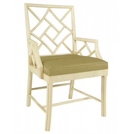 Fretwork Arm Chair