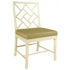 Fretwork Side Chair