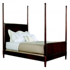 Tompkins King Bed with Wood Headboard and Footboard
