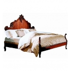 Hand Carved Bed (King)