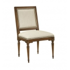 Louis XVI Square Back Side Chair