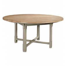 "Campagne 60"" Dining Table Top & Piedmont Dining Height Base"