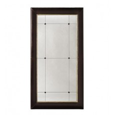 Dauphine Upholstered Floor Mirror