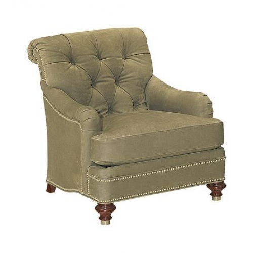 St James Tufted Lounge Chair