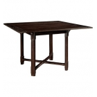 "Piedmont 54"" Square Dining Table Top & Counter Height Base"