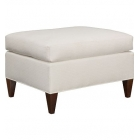 Hickory Chair Upholstery Lorens Ottoman