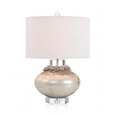 Woven-Collar Table Lamp