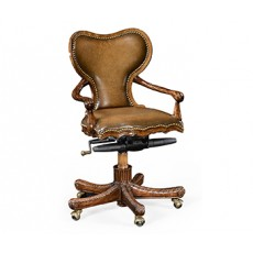 George II Kidney Desk Chair