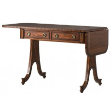 Kindle English Drop Leaf Writing Desk