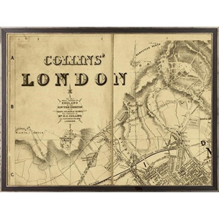 Collins Map of London