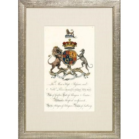 Crests of English Peers P4080C