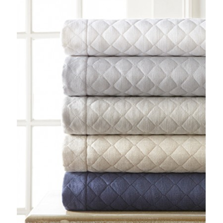 Jefferson Linen Quilted Coverlet