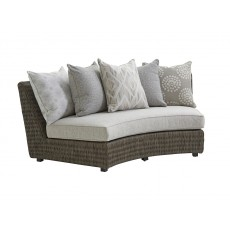 Cypress Point Outdoor Curved Sectional Sofa Armless
