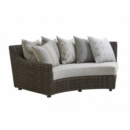 Cypress Point Outdoor Curved Sectional Sofa LAF/RAF