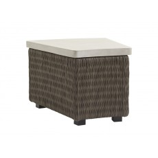 Cypress Point Outdoor Angled Accent Table