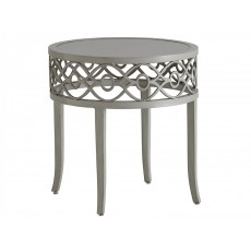 Silver Sands Round End Table