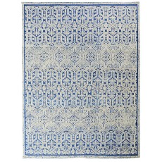 Moroccan Ivory Blue