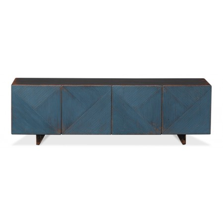 Low Wall Console, Blue