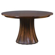 Split Base Pedestal Table