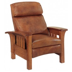Bustle Back Bow Arm Morris Recliner