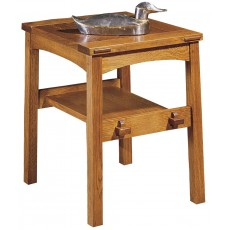 Butterfly Top End Table