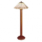 Octagonal Base Floor Lamp