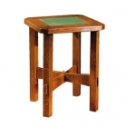 Tile Top Tabouret Table