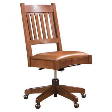 Armless Swivel Chair
