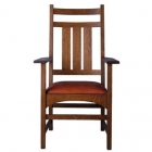 Harvey Ellis Arm Chair, no Inlay