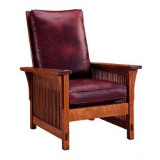 Compact Spindle Morris Chair