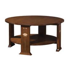 Harvey Ellis Round Cocktail Table