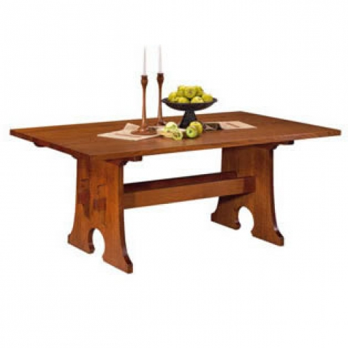 Mission Trestle Table Plans: Stickley Keyhole Trestle Table Price, Diy Tool Shed Kit