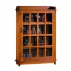 Single Bookcase with Glass Door
