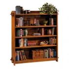 Open Double Bookcase