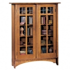 Double Door Bookcase