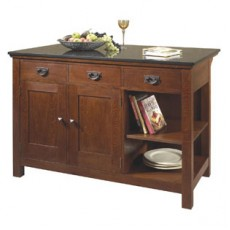 Mission Kitchen Island