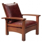 Gus Bow Arm Morris Chair