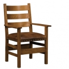 Slatted Arm Chair