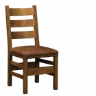 Slatted Side Chair