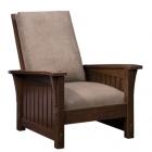 Slatted Morris Chair