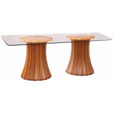 Broadway Double Pedestal Table