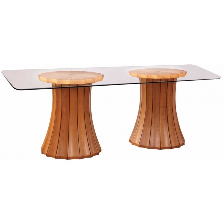 Broadway Double Pedestal Table