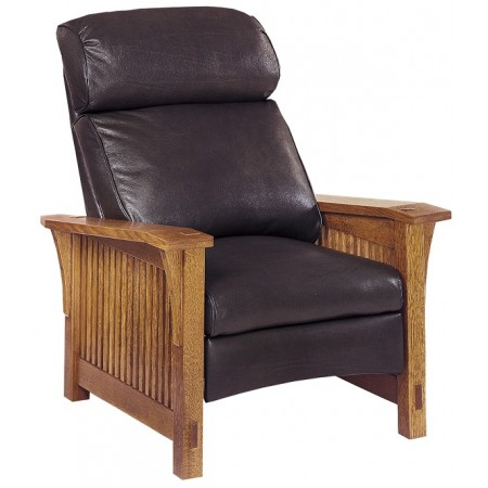 Bustle Back Spindle Morris Recliner