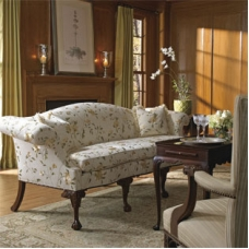 English Serpentine Sofa