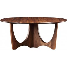 Walnut Grove Round Cocktail Table