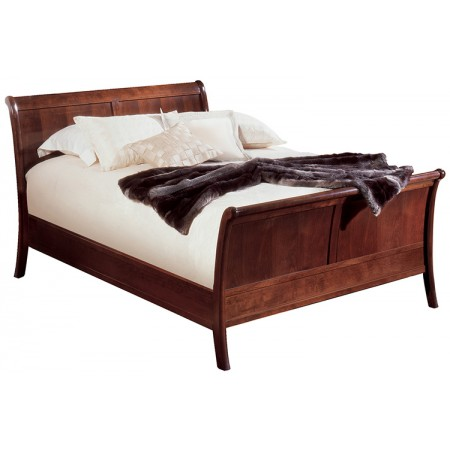 Panel Sleigh Bed