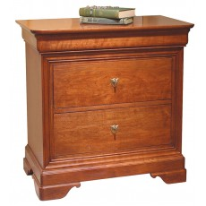 La Rochelle Three Drawer Nightstand