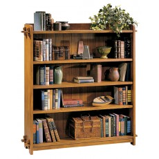 Open Double Bookcase
