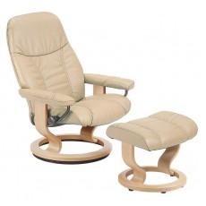 Consul Chair & Ottoman (S)