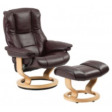 Mayfair Chair & Ottoman (L)